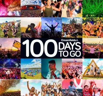 #Creamfields2018 is only 100 days away! ...