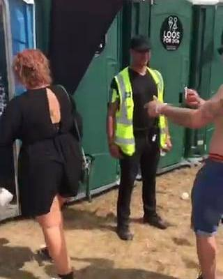 Who else managed to find our toilet rave on the Saturday?