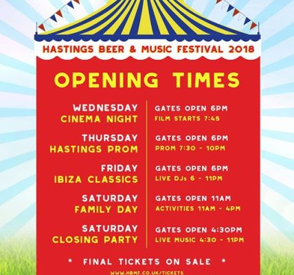 This time next week, the festival will be in full swing so we thought we'd share...