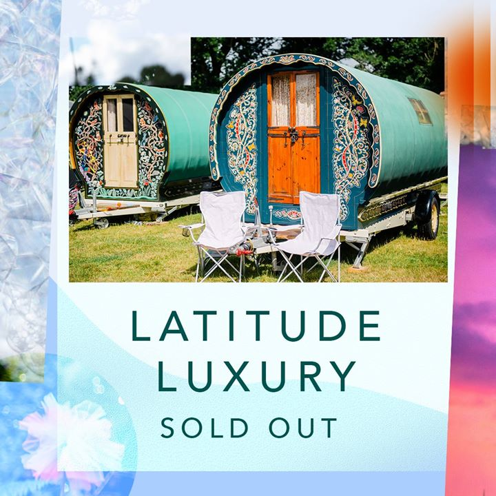 Our Latitude Luxury accommodation options have sold out!  Don't fancy bringing y...