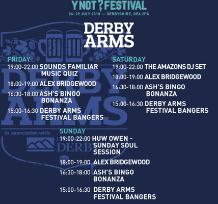 Festival bangers, bingo, Sunday soul sessions, a DJ set from The Amazons and a v...