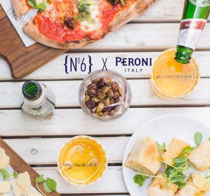 Reflecting the heritage of Peroni Nastro Azzurro and the unique Italian inspirat...