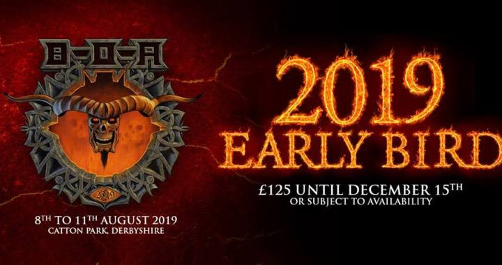Bloodstock Open Air 2019: Tickets now on sale