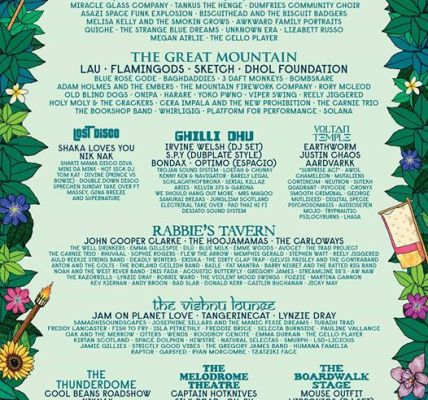★ STAGE BY STAGE LINE UP ANNOUNCED ★...