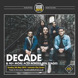 Don't miss Decade at Handmade 2019. Catch them alongside 40+ other acts across 1...