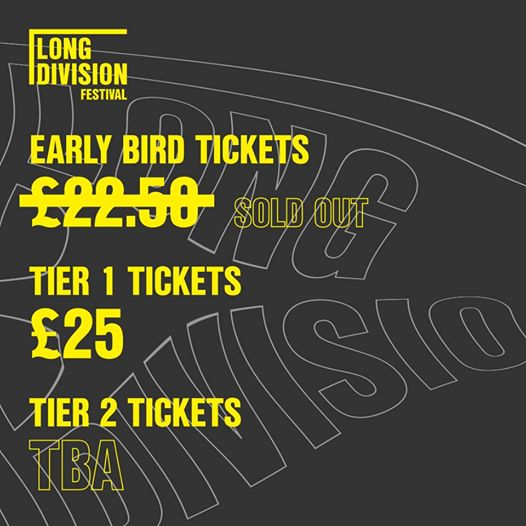 Delighted that our Early Birds have sold out!...