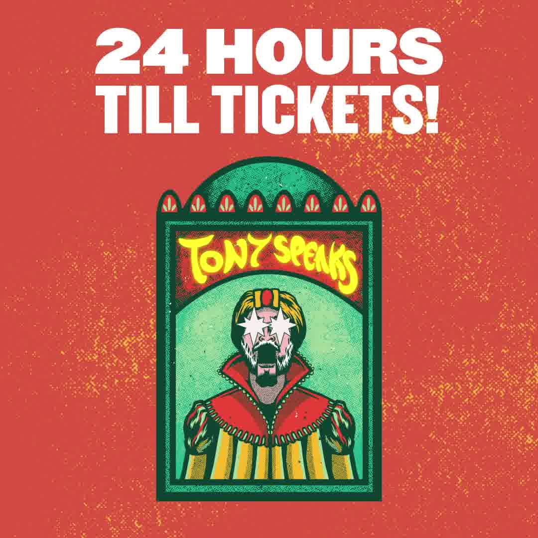 24 hours until tickets