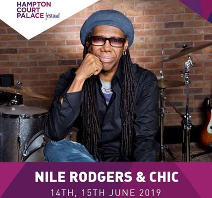 Tickets for the second and final Nile Rodgers & CHIC show a Hampton Court Pa...