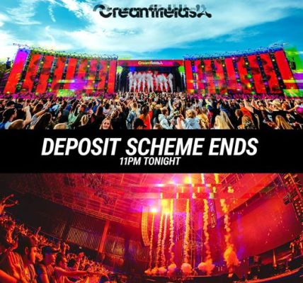 Less than 12 hours to go to secure your ticket on our 5 part deposit scheme from...