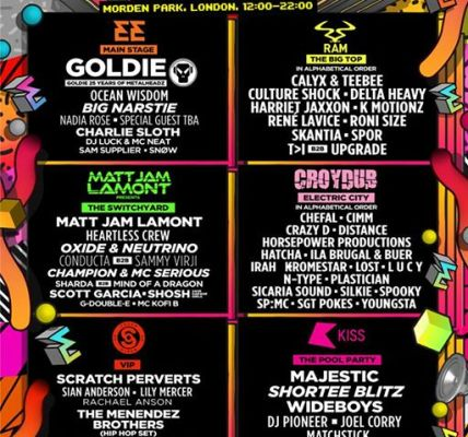 Our biggest and best Sunday line-up to date....