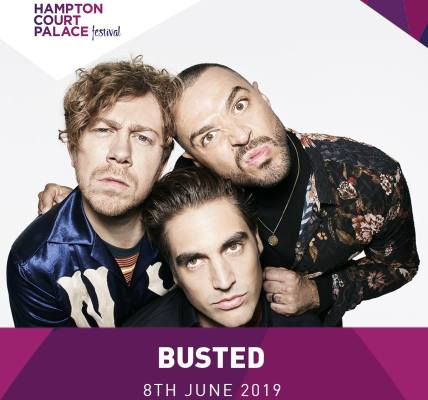 We are really excited to announce that Busted are the final act to join our line...