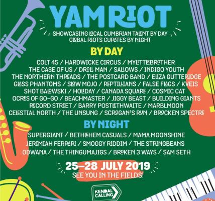 We're thrilled to reveal our Yam Riot line-up, jam-packed with exciting, em...