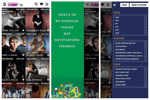 On Friday we released the #cheltjazzfest app!...