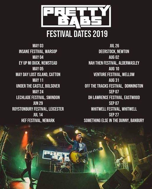 Nice set of Festivals guys !Here is a full list of our festival appearances for ...
