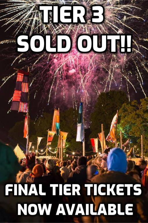 TIER 3 TICKETS SOLD OUT!!...