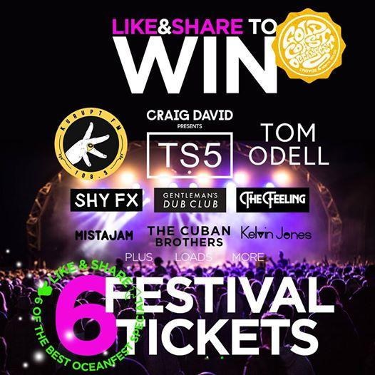 LIKE & SHARE FOR THE CHANCE TO WIN 6 x FESTIVAL TICKETS, PLUS 6 SLEEPER ACC...