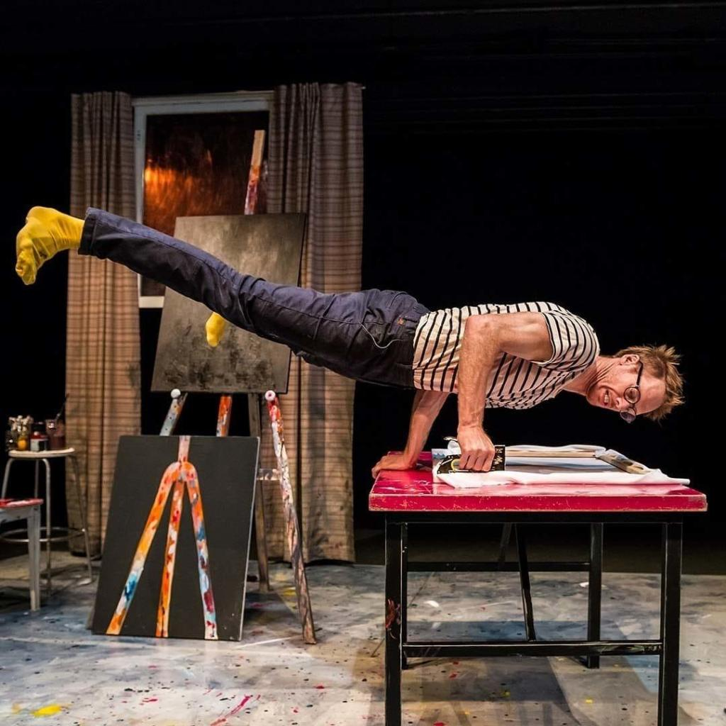 Created by Thom Monckton and Circo Aereo, The Artist is a physical comedy based ...