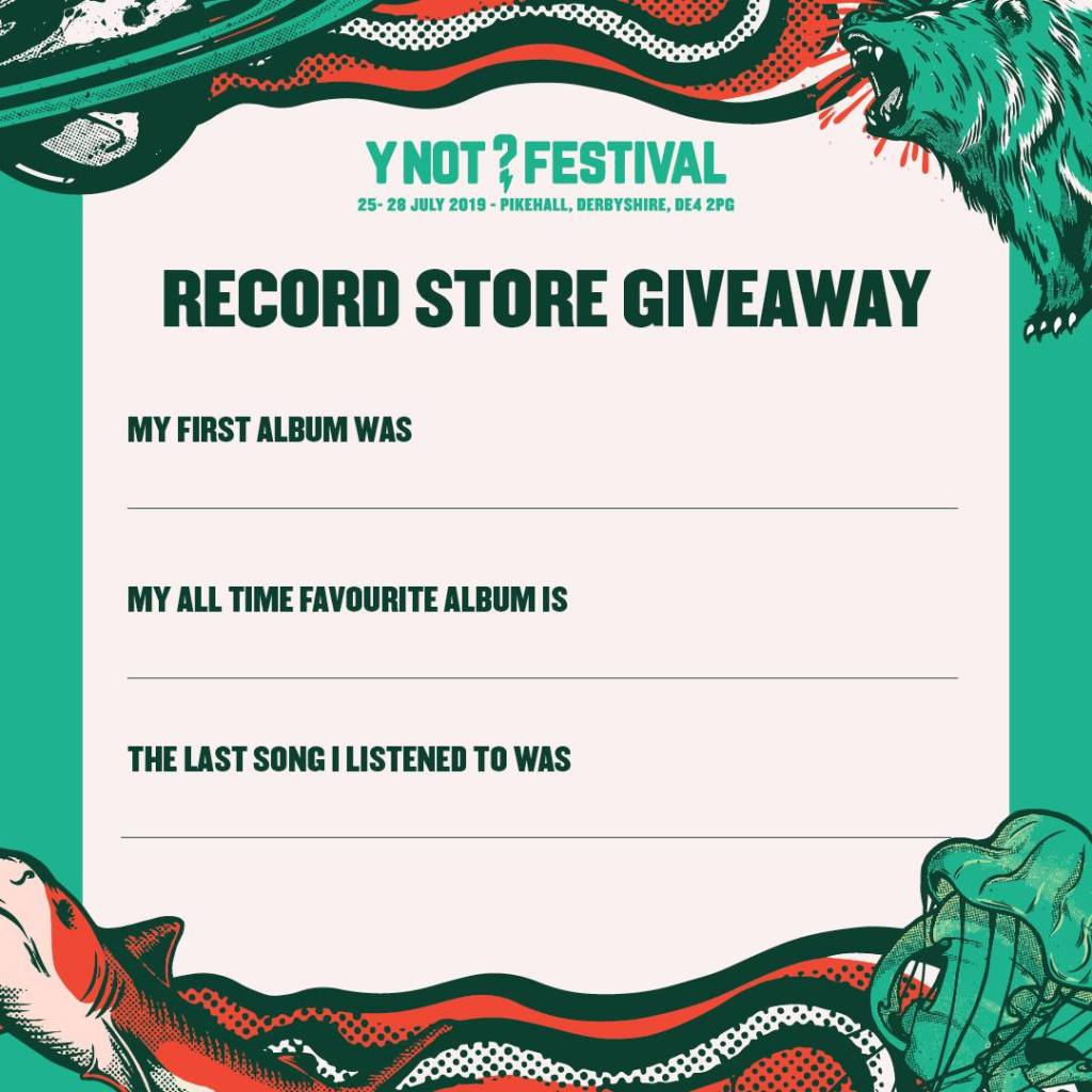 RECORD STORE DAY COMPETITION...
