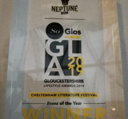 We are thrilled that Cheltenham Literature Festival has won Event of the Year fo...
