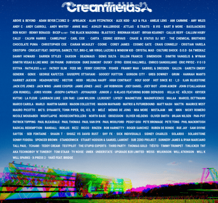 #Creamfields2019  All tickets are heading to sell out in record time....