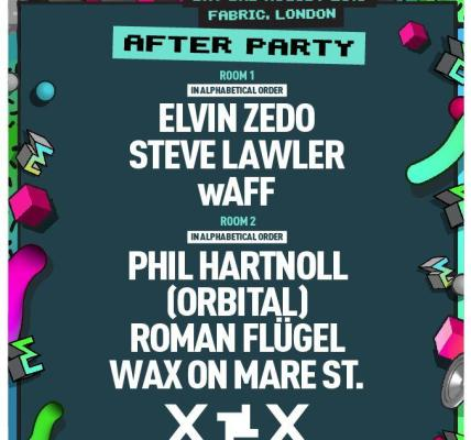 AFTER-PARTY LINE-UP ANNOUNCED!...
