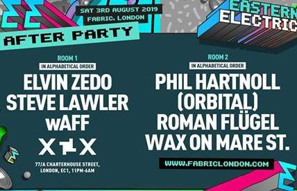 Eastern Electrics Afterparty: fabriclondon
