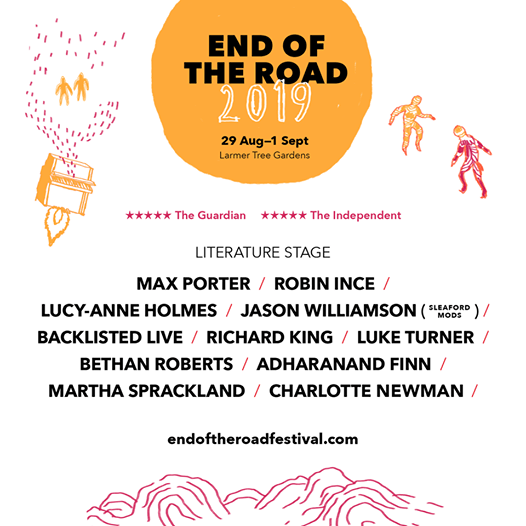 We're delighted to reveal our Literature lineup for End Of The Road Festiv...