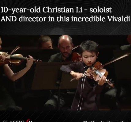Christian Li  plays Vivaldi