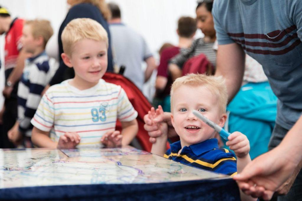 Join us for plenty of family fun at #cheltscifest! Whether you're becoming a DNA...