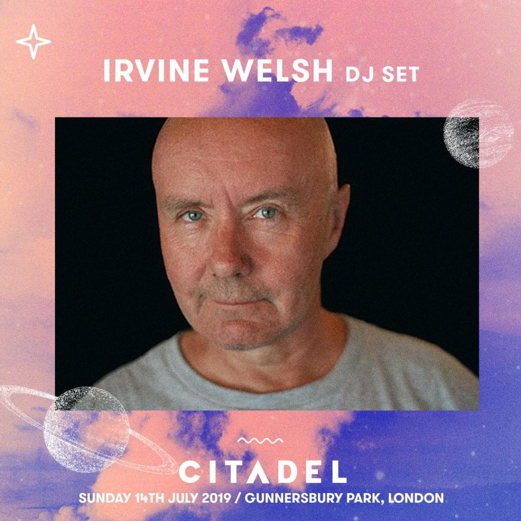 Just added to #Citadel19  Trainspotting author and life-long dance music advocat...