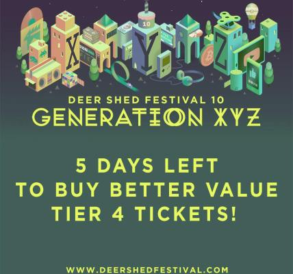 A friendly reminder that you have just 5 days left to buy better value #DeerShed...