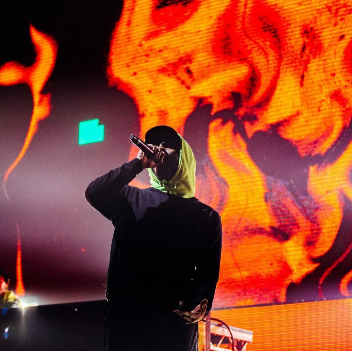 One week ago, Skepta made history on his home turf with special guests Wizkid, J...