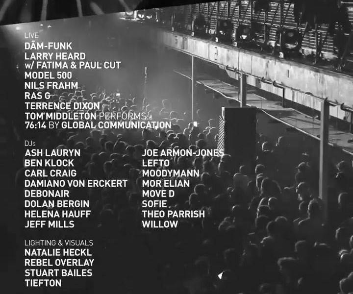 Our friends at Printworks London have just announced three huge shows over the A...
