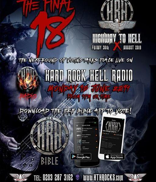 ITS HIGHWAY TO HELL 10 VOTE TIME! LINK TO EVENT INFO (AND RULES):...