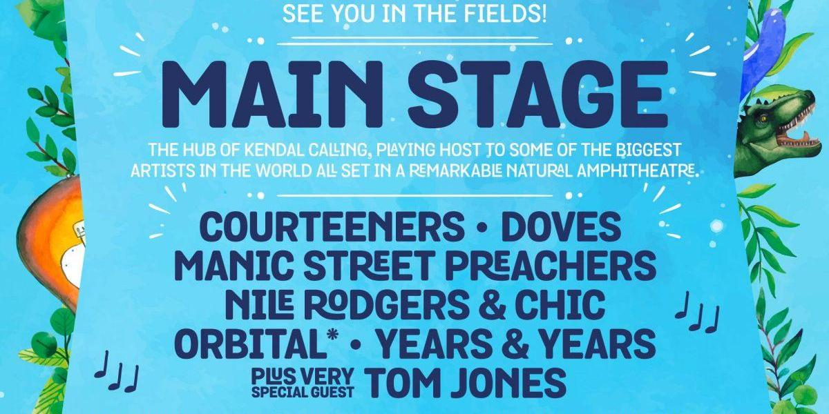 The heart of Kendal Calling  We can't wait to welcome our headliners The Courtee...