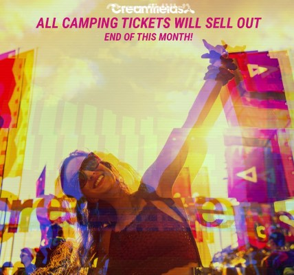 All #Creamfields2019 camping tickets will sell out end of this month....