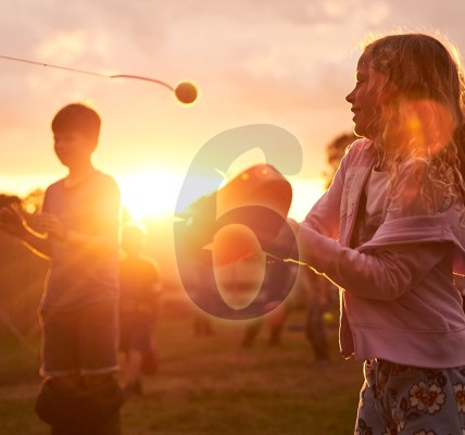 SIX DAYS until we're back on the Main Stage hill! Our homemade swingball sets ar...