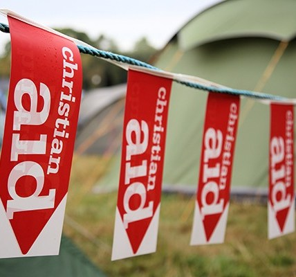 Christian aid presents…the almighty power of people - Greenbelt