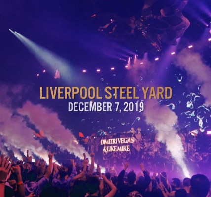 Tomorrowland presents Dimitri Vegas & Like Mike - Garden of Madness at Steel Yard Liverpool