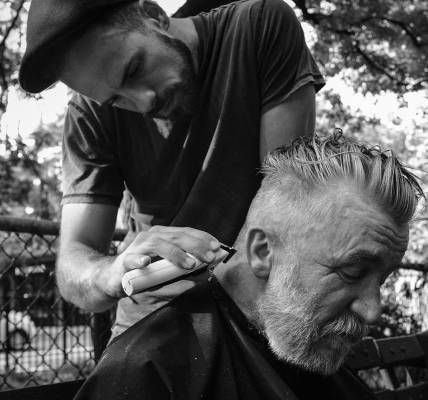 When Joshua Coombes started cutting hair for people experiencing homelessness, h...