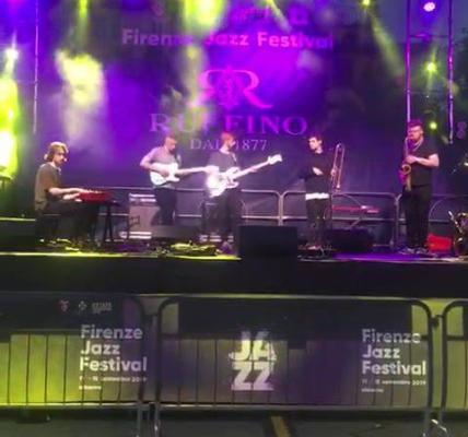 Here is a snippet of Graham Costello's STRATA's sound check ahead of their conce...