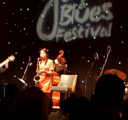 Saxophonist Aldana Among The Cross-Culture Champions At Edinburgh Jazz and Blues
