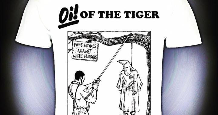 0161 Festival news: This new shirt from top band Oi! Of the tiger is  #Manchester #antifascist #hangtheklan #antinazi #o…
