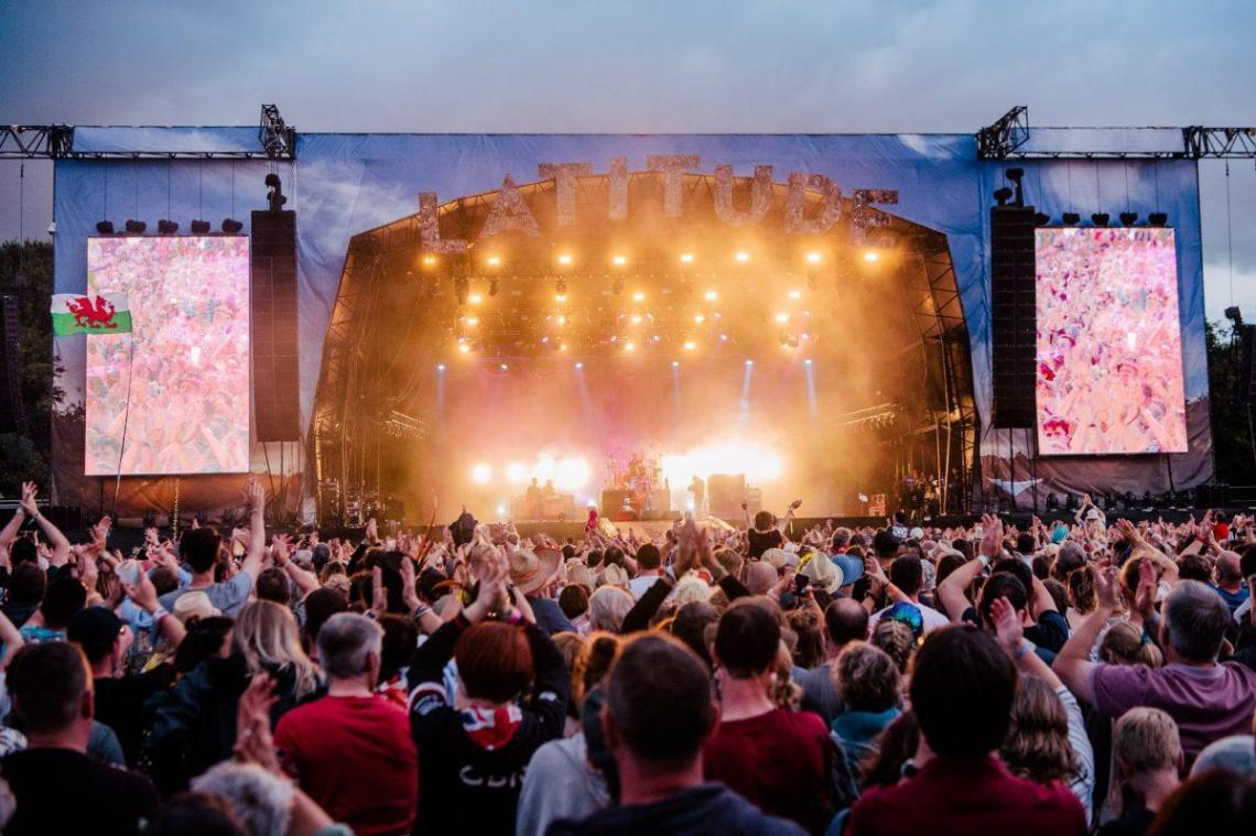 What a view! We can't wait to be back in Henham Park next July  Latitude 2020 we...