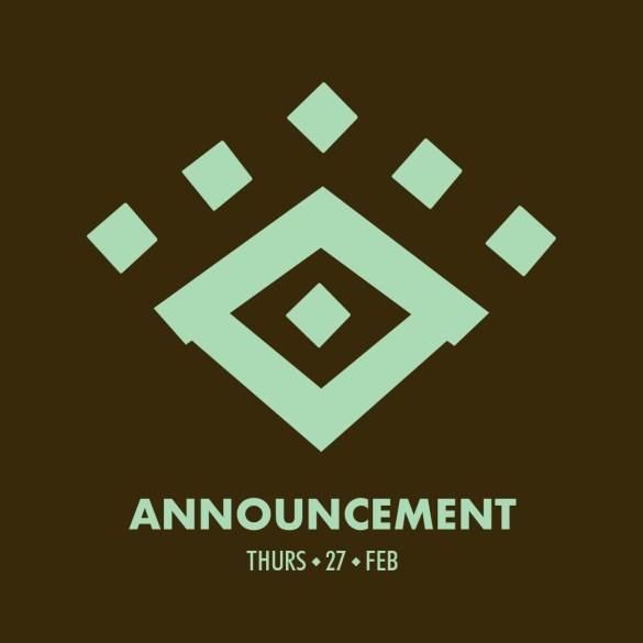 BIG lineup announcement incoming Midday tomorrow at midday... #SeekAndYouShallFi...