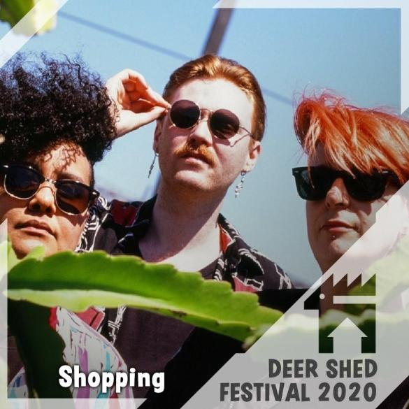 Shopping are set to provide the Saturday night party at the Lodge stage! Their D...