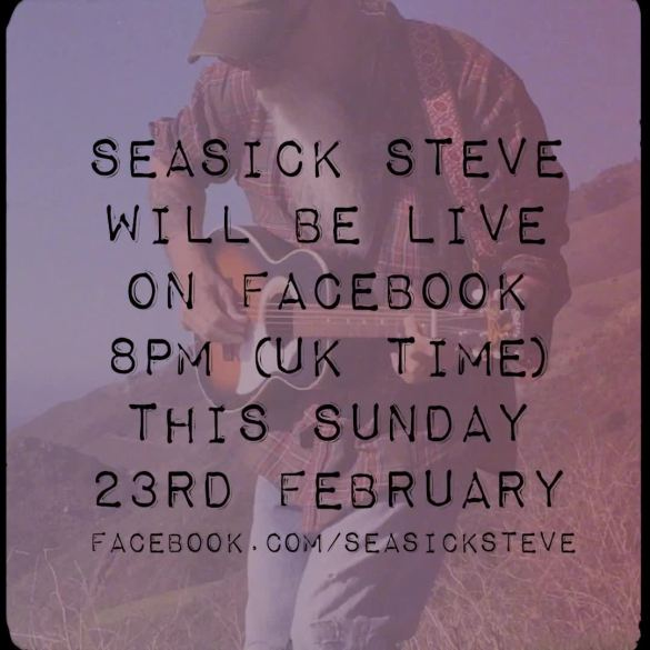 Live On Sunday 23rd February