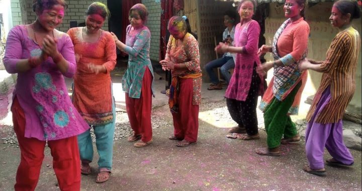 FESTIVAL HIGHLIGHTS: Holi Special Dance At Chitwan 2020