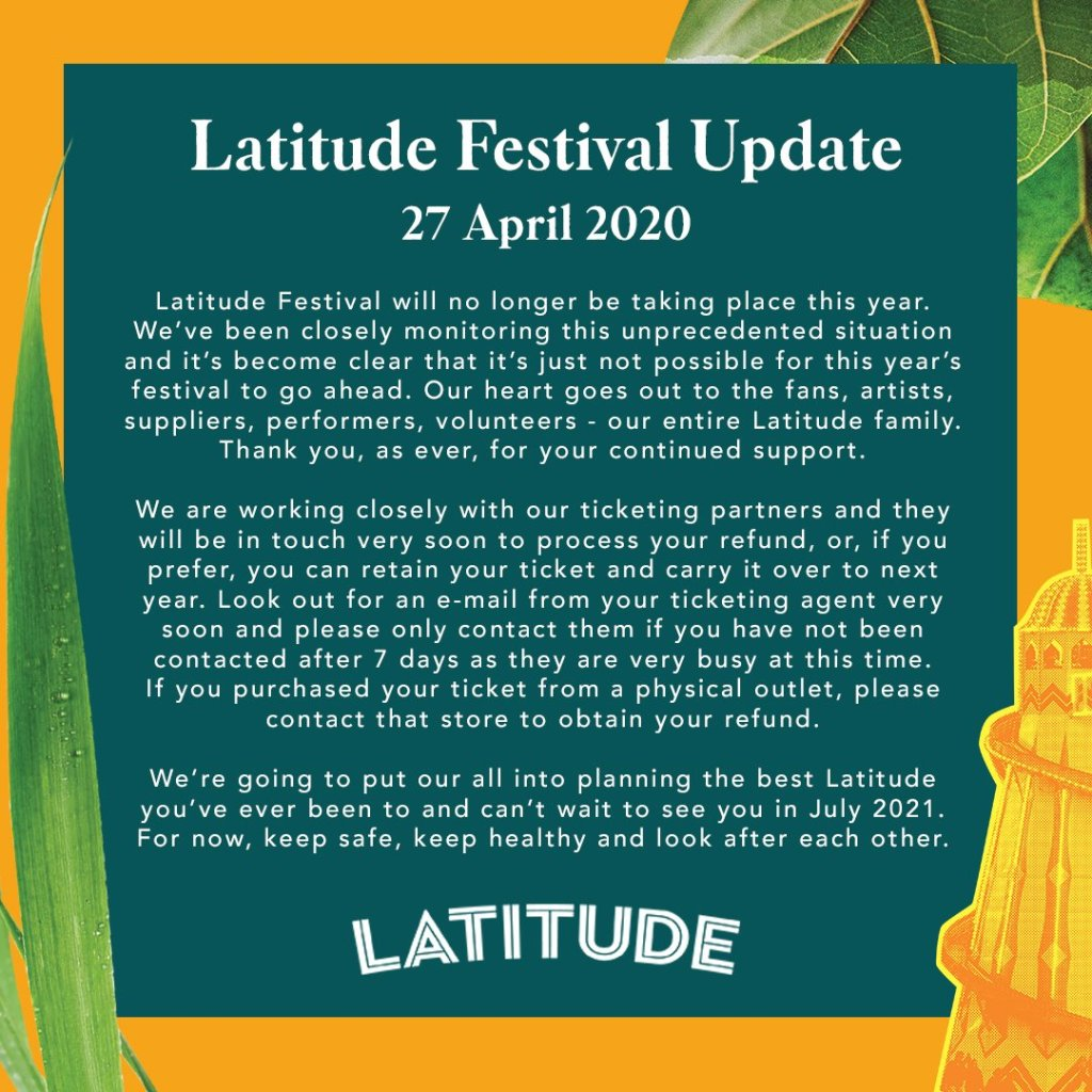 We're sorry to announce that Latitude 2020 will no longer be going ahead. Read t...