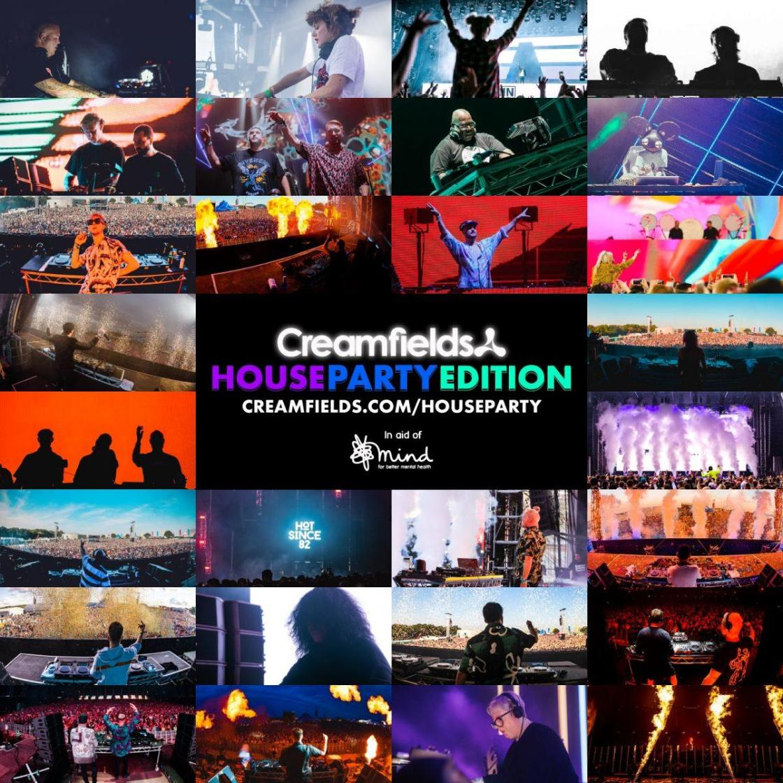 Strap yourselves in for #CreamfieldsHouseParty! Kicking things off from 12pm thi...